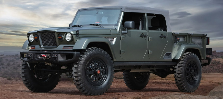 jeep concept Jeep Crew Chief 715