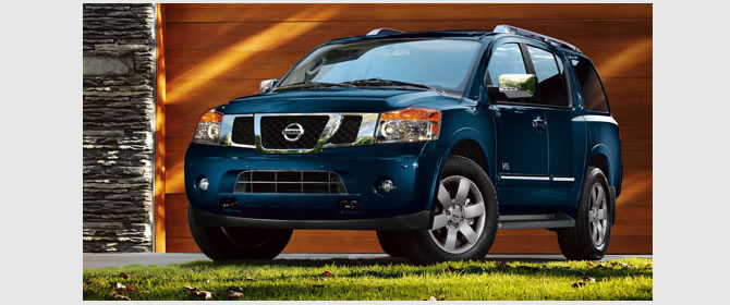 2017 Nissan Armada - Best Adventure Cars by Nissan