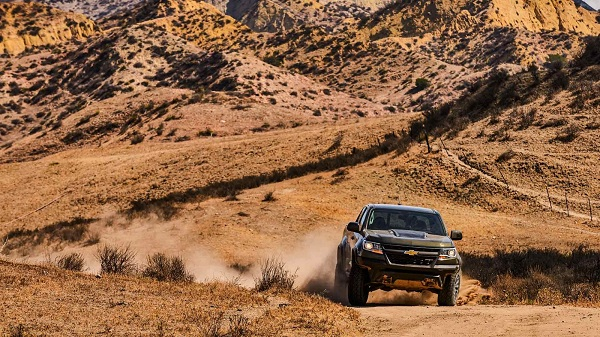 2017 Chevrolet Colorado ZR2 – An Off Roader Built To Battle It All