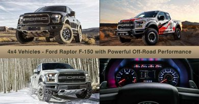 4x4 Vehicles - Ford Raptor F-150 with Powerful Off-Road Performance