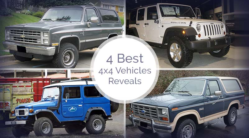 4 Best 4x4 Vehicles Reveals