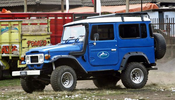 Toyota FJ40 Land Cruiser: Veteran among the 4x4 Vehicles