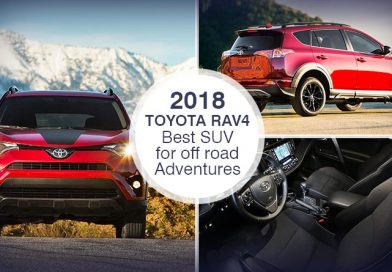 2018 Toyota RAV4 – Best SUV for off road Adventures
