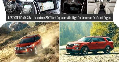 Best off Road SUV – Luxurious 2017 Ford Explorer with High Performance EcoBoost Engine
