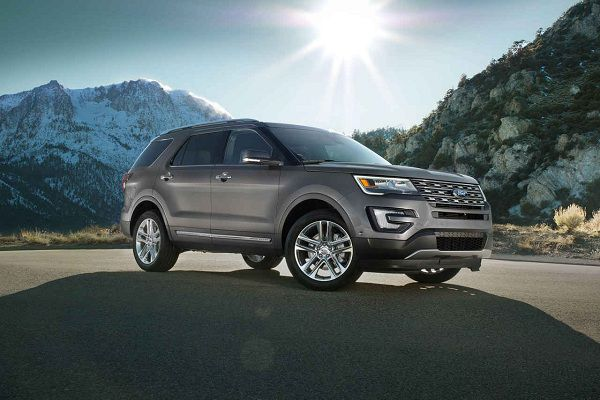 Design of Best off road SUV 2017 Ford Explorer
