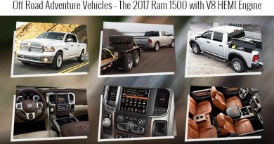 Off Road Adventure Vehicles – The 2017 Ram 1500 with V8 HEMI Engine
