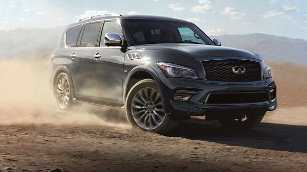 Price of 2017 Infiniti QX80
