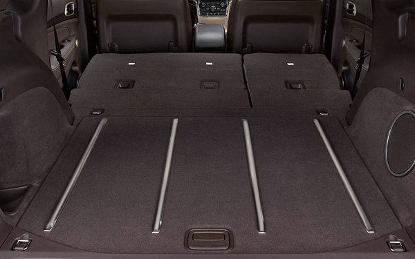 Cargo Area of 2017 Jeep Grand Cherokee