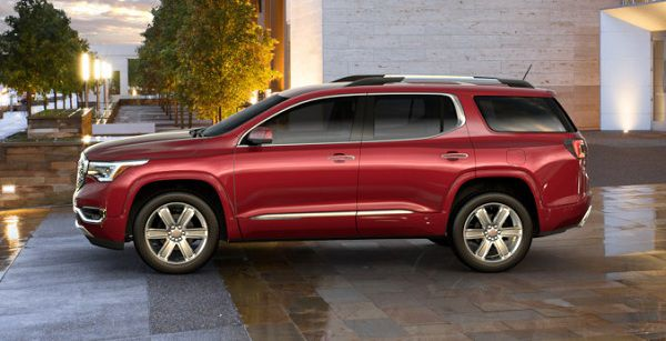 Design of Best Adventure Vehicles - GMC Acadia 2017