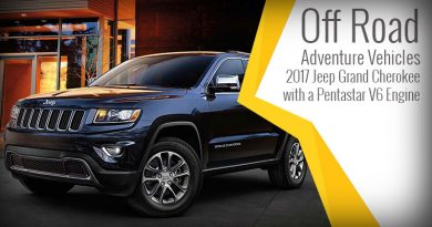 Off Road Adventure Vehicles - 2017 Jeep Grand Cherokee with a Pentastar V6 Engine