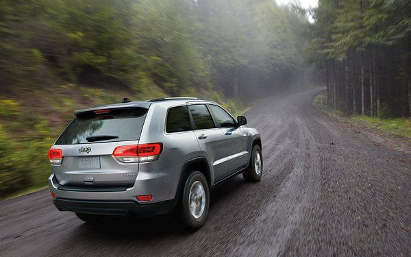 Powertrain of 2017 Jeep Grand Cherokee