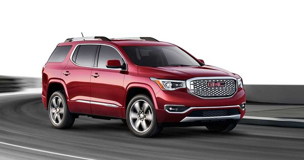 Powertrain of GMC Acadia 2017