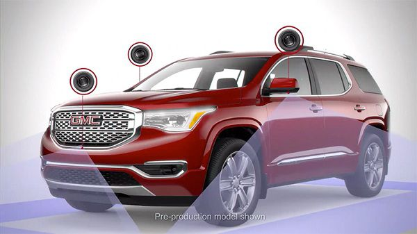 Safety Features of GMC Acadia 2017