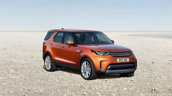 Exterior of 2017 Land Rover Discovery