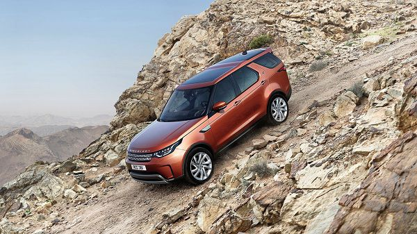 Powertrain of 2017 Land Rover Discovery