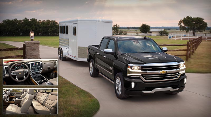 4x4 Adventure Vehicles - 2018 Chevrolet Silverado with a Powerful V8 Engine
