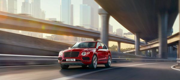 Performance of the 2018 Bentayga