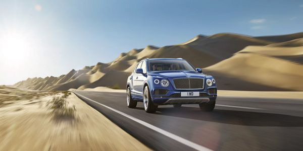 Price and Availability of 2018 Bentley Bentayga in the UAE
