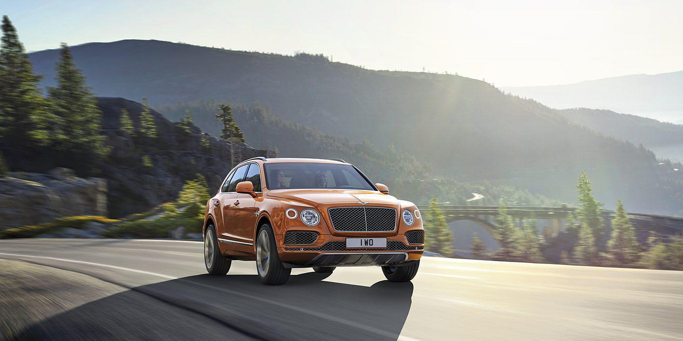 Bentley Bentayga – Best Adventure Vehicles