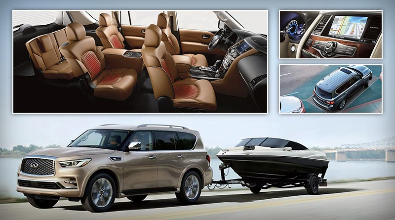 Adventure Automotive – 2018 Infiniti QX80 with Advanced Technologies and a V8 engine