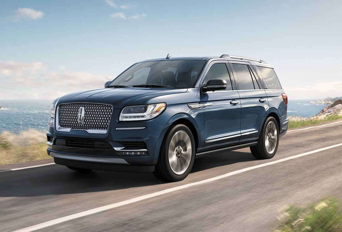 Exterior of 2019 Lincoln Navigator