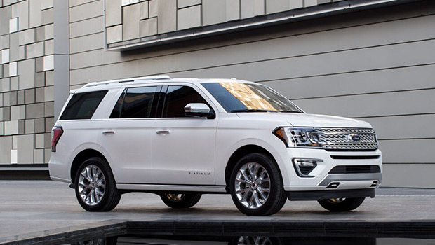 Exterior of 2019 Ford Expedition