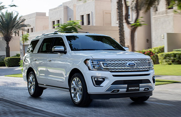 Exterior of the 2019 Ford Expedition