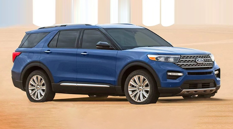 2020 Ford Explorer- Midsized Adventure SUV with EcoBoost Engine