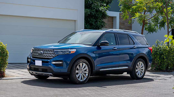 Design of the 2020 Ford Explorer