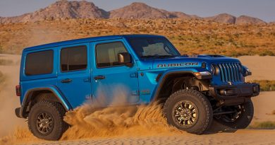 2021 Jeep Wrangler Rubicon 392 - Adventure SUV with Heavy-Duty Braking System