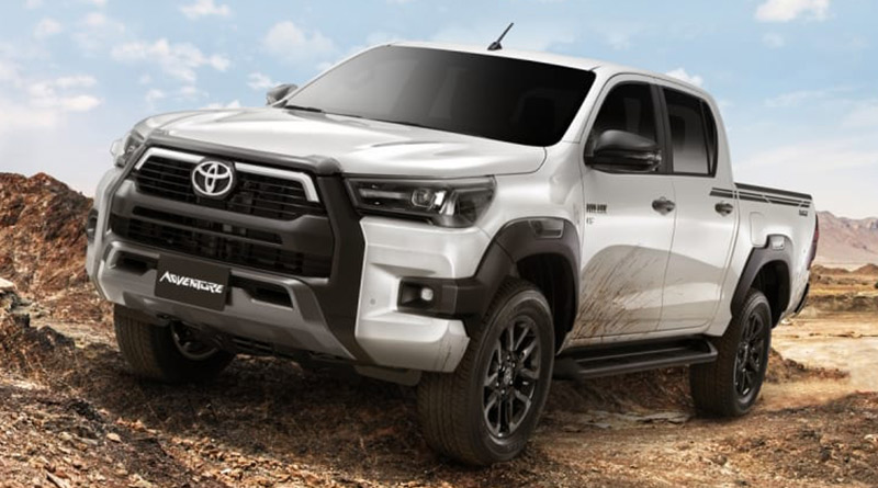 2021 Toyota Hilux Adventure Available with a Powerful V6 Engine