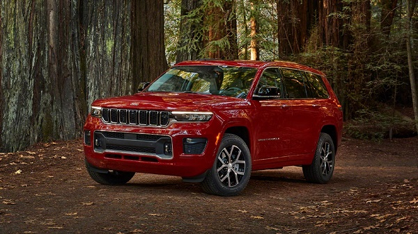 Exterior of the 2021 Jeep Grand Cherokee L
