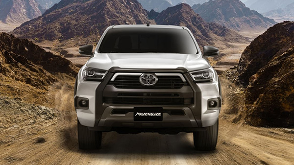 Exterior of the 2021 Toyota Hilux Adventure