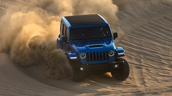 Performance of the 2021 Jeep Wrangler Rubicon 392