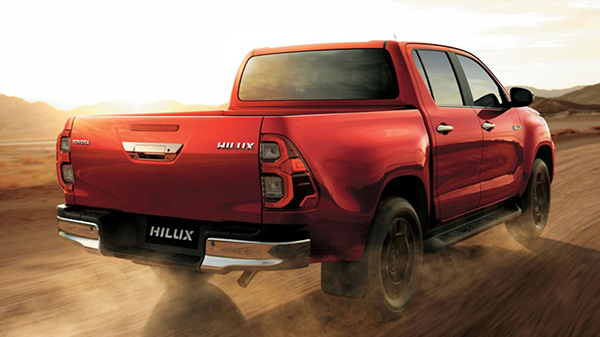 Performance of the 2021 Toyota Hilux