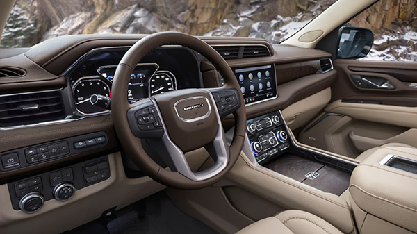 In-Cabin Technologies of 2021 GMC Yukon Denali