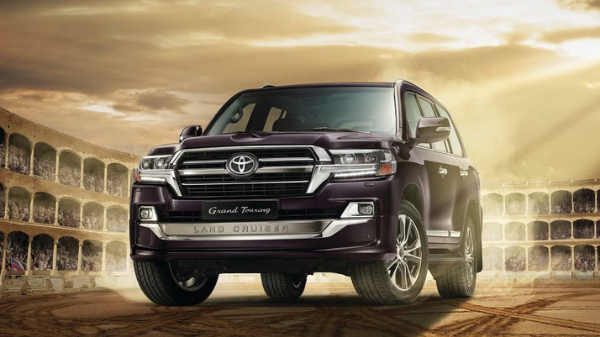 Exterior of the 2021 Toyota Land Cruiser