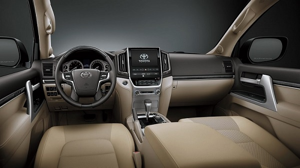In-Cabin Technologies of the 2021 Toyota Land Cruiser
