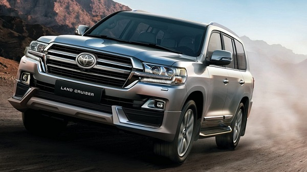 Performance of the 2021 Toyota Land Cruiser