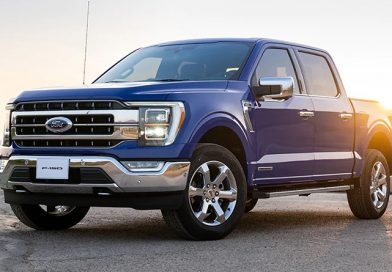 2021 Ford F-150 with a Powerful V8 Engine