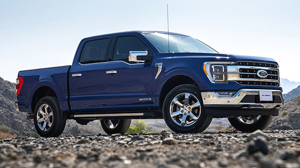 Design of the 2021 Ford F-150