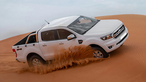 Price of 2021 Ford Ranger in the UAE