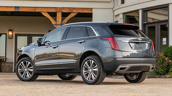 Price of the 2021 Cadillac XT5
