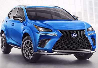 2021 Lexus NX 300 with Latest Safety Technologies