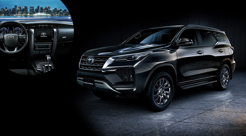 2021 Toyota Fortuner with a Powerful V6 Engine